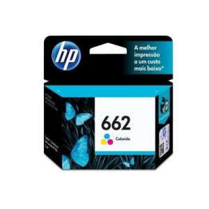 Cartucho de Tinta HP 662 Tri-color - CZ104AB