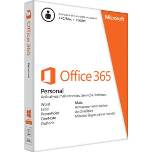 Microsoft Office 365 Personal 32/64 BR QQ2-00108