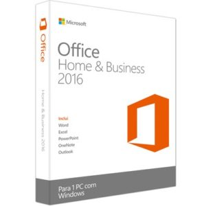 Microsoft Office Home & Business 2016 FPP T5D-02270