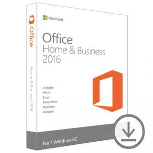 Microsoft Office Home & Business 2016 32/64 ESD T5D-02324