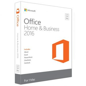 Microsoft Office for MAC Home & Business 2016 FPP W6F-00479