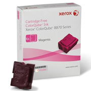 Xerox Caixa com 6 Bastoes de Cera Solida Cor MAGENTA CQ 8870/8580 8870/8580 Cx com 6 bastões 17301 108R00960