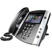 Polycom Telefone IP VVX 600 com Bluetooth e HD Voice (POE) (não acompanha fonte de alimentação AC)