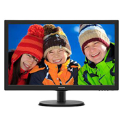 Philips Monitor LED 21.5 Widescreen (1920x1080) com SmartControl Lite