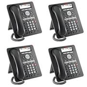 Avaya Apararelho Telefonico IP (1608-I) PoE - kit composto c/ 4 unidades 700510908