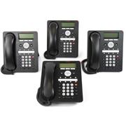 Avaya Aparelho Telefonico IP (1408) - Kit com 4 unidades