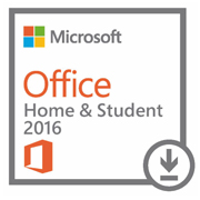 Microsoft Office Home and Student 2016 Windows (All languages) - licenca 1 usuario (Download)