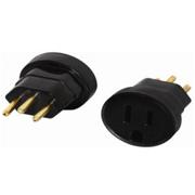 APC 9020620033 Adaptador Tomada Tripolar para novo padrão 3 pinos Brasileiro (NBR 14136)