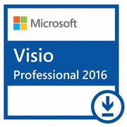 Microsoft Visio Professional 2016 Windows (All languages) - licenca 1 usuario (Download)