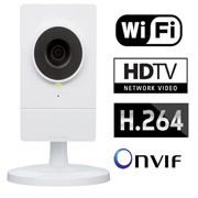 D-Link Camera de Video IP Wireless 802.11 n HD Cubo Zoom 10x
