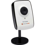 D-Link Camera Video IP SecuriCam Fixa Cabeada 1x 10/100Mbps RJ45 - CMOS VGA Sensor/30fps