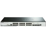 D-Link Switch Gigabit com 24x PoE 10/100/1000BMbps RJ45