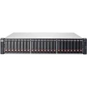 """E7W01A HPE Storage MSA 1040 Rack 2U/LFF, 2x portas Controladora Dupla 1G iSCSI DC, 12x Baias para discos SAS 2.5"""" (sem discos) - Capacidade máx: 96TB"""