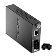 TRENDnet Conversor de 10/100BaseTX (RJ45) para Fibra Ótica 100BaseFX (SC) (MMF Multimodo-2Km)