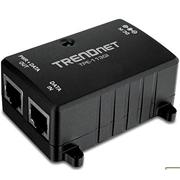 TRENDnet Injetor PoE - 1x 10/100/1000Mbps RJ45 (máx. 15.4W)