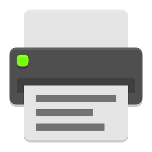 configuração de multifuncional impressora